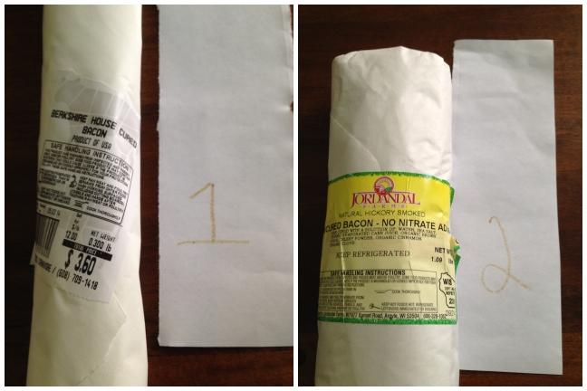 taste test 1 and 2