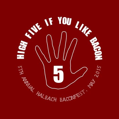 Baconfest 5 logo