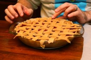 Christmas Day Cherry Pie