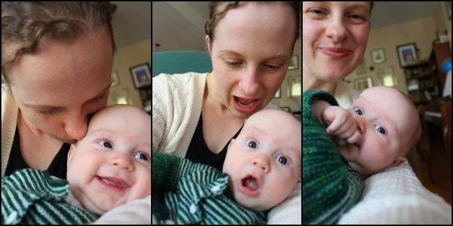 Alex and Mommy Triptych